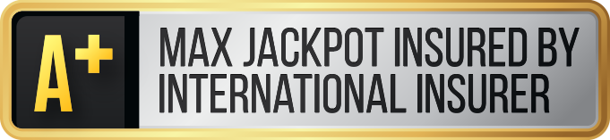 Max Jackpot Insured by International Insurer